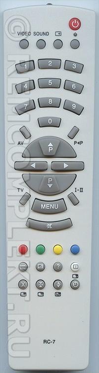 инструкция к телевизорам рубин